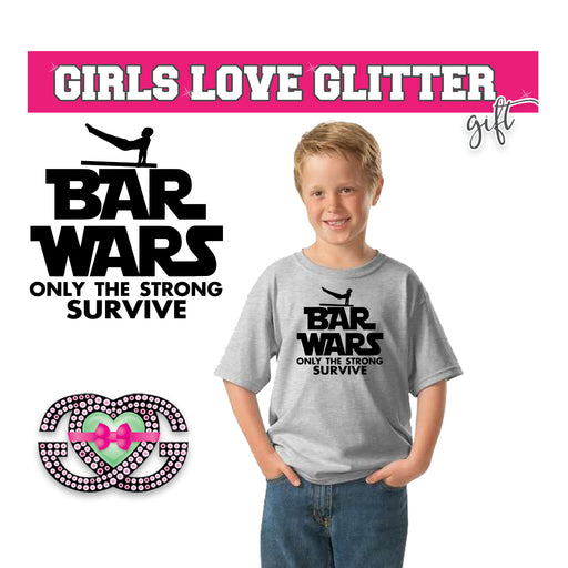 Boy's Tee Bar Wars