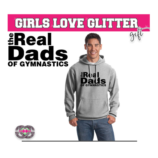 Men's Hooded Fleece REAL DADS OF GYMNASTICS
