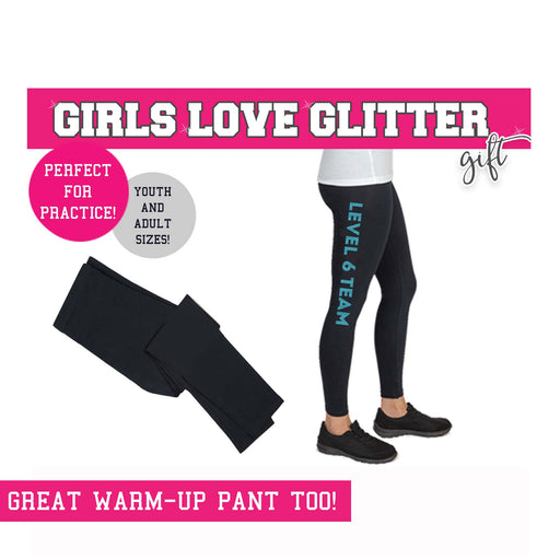 Gymnast Legging YOUR LEVEL