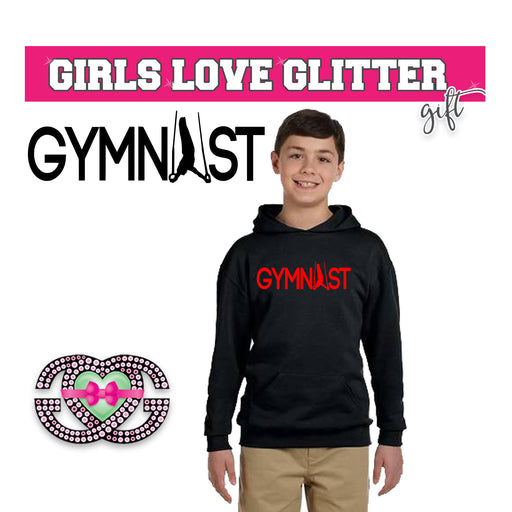 Boy's Hooded Fleece Gymnast 2