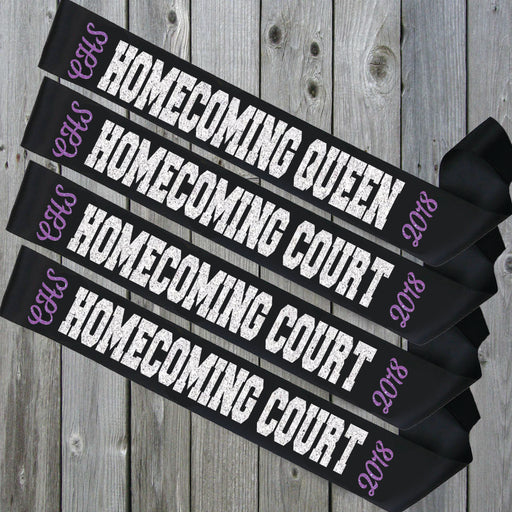 Homecoming Sash Style 2