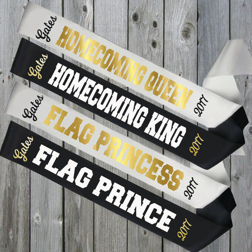 Homecoming Sash Style 3