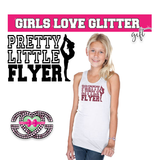 Cheer Tank Pretty Little Flyer