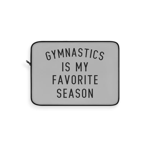 Favorite Season GYMNASTICS Laptop Sleeve