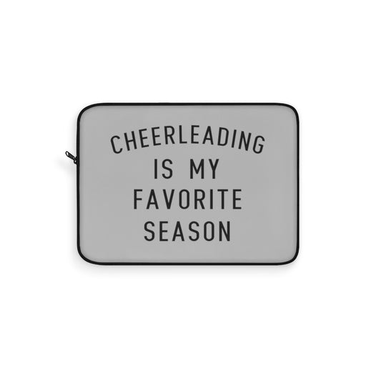 Favorite Season CHEER Laptop Sleeve