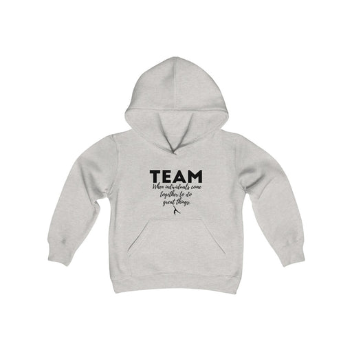 TEAM GREAT Youth Heavy Blend Hooded Sweatshirt