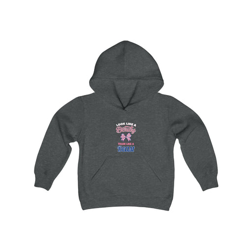 BEAUTY BEAST Youth Heavy Blend Hooded Sweatshirt