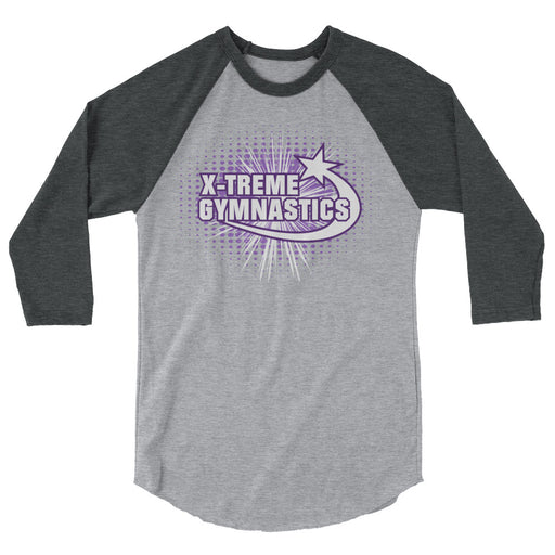 X-TREME GYMNASTICS Adult 3/4 Sleeve Raglan