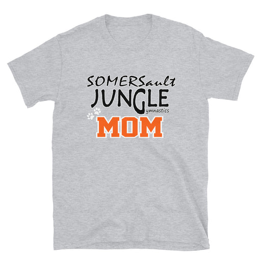 SOMERSAULT JUNGLE GYMNASTICS MOM Unisex Short-Sleeve Unisex T-Shirt