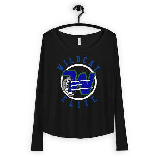 WILDCAT ELITE Ladies' Long Sleeve Flowy Tee