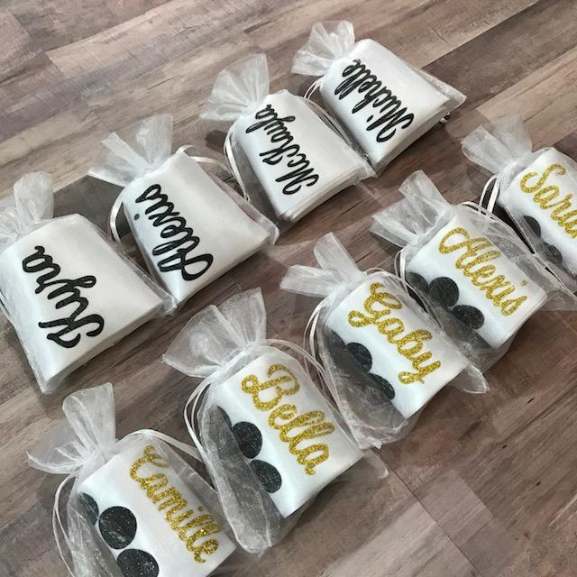 Senior Sash Script Cheer With School Letters