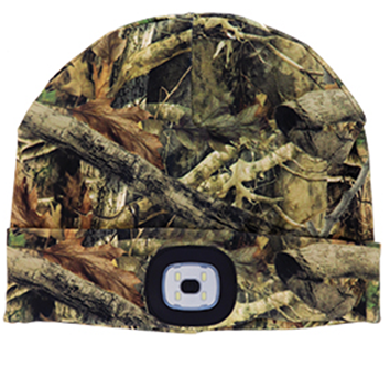 Night Scout LED Beanie - Camo