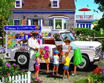 1000 Piece Puzzle - Ice Cream Truck