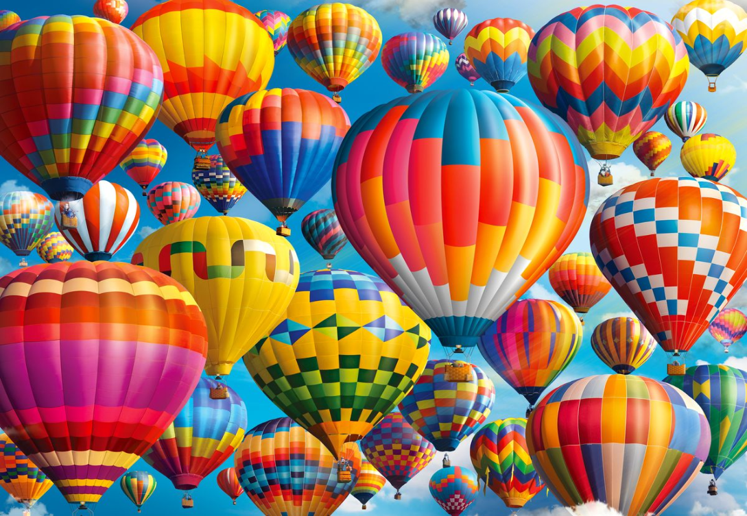 1000 Piece Puzzle - Balloon Fest