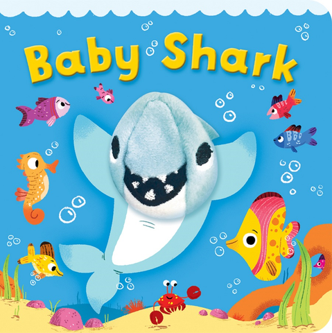 Baby Shark Puppet Book