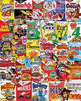 1000 Piece Puzzle - Cereal Boxes