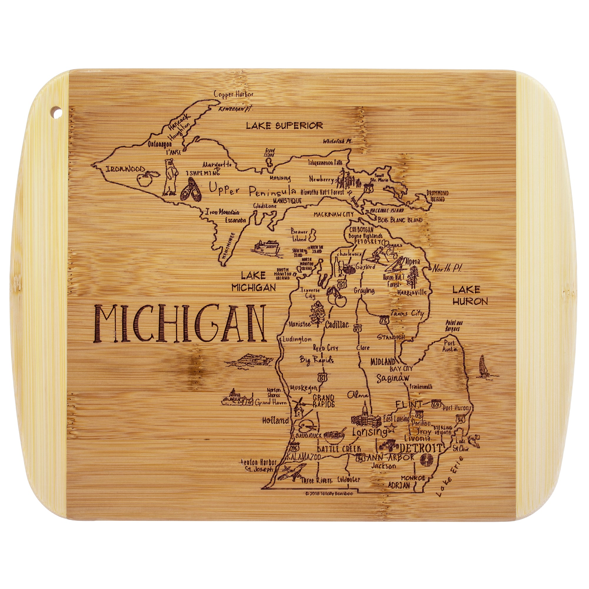 Cutting Board - Michigan