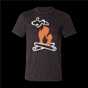 T SHIRT - 2XL - MICHIGAN CAMPFIRE