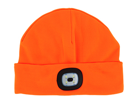 Night Scout LED Beanie - Orange