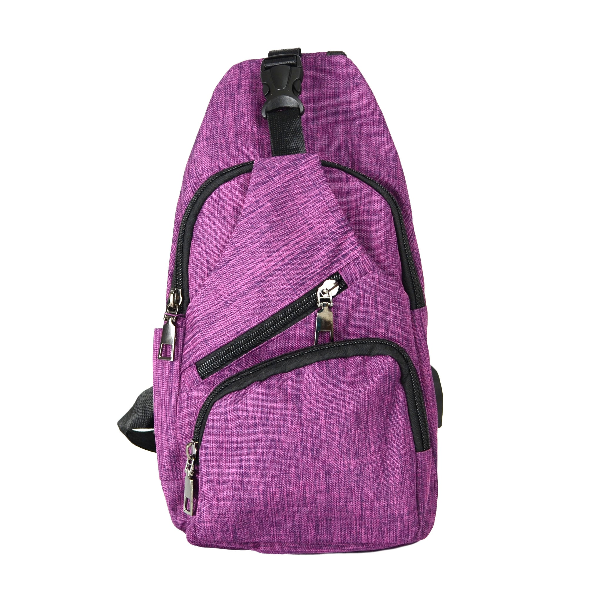 Anti-theft Sling Day Pack - Plum