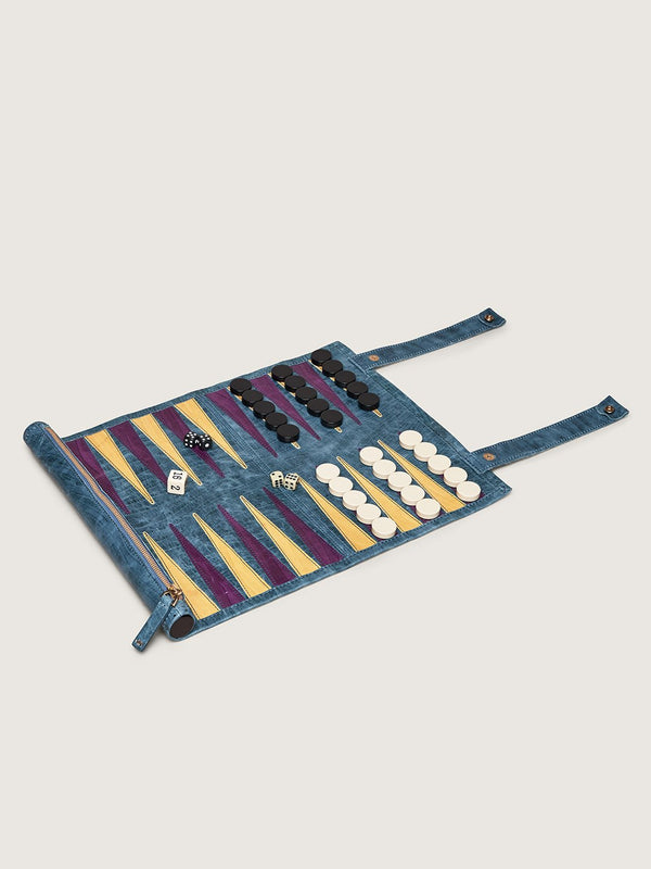 Backgammon Board - Clemaris African Violet