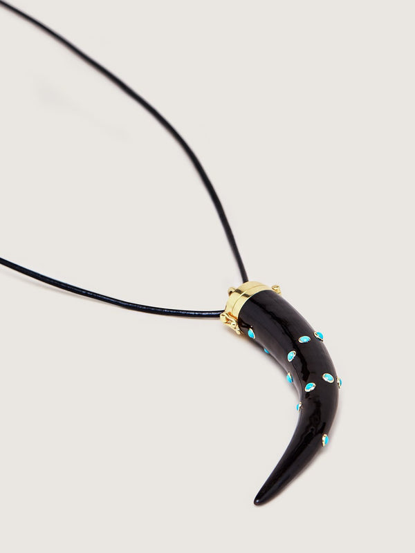 The Karoo Collection Opening Pendant - Turquoise