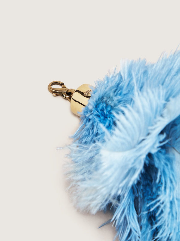 Ostrich Feather Charm - Truex Blue