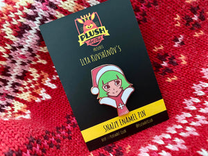 ILYA KUVSHINOV'S FIRST PLUSH ART CLUB (HOLIDAY) PIN RELEASING 12/9 @ 12 PM PDT