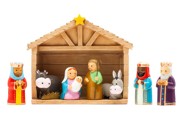 Nativity Set - 8 piece