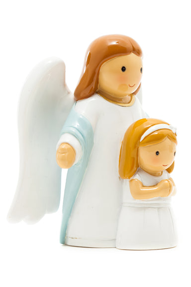 First Communion, An Angel and a Girl