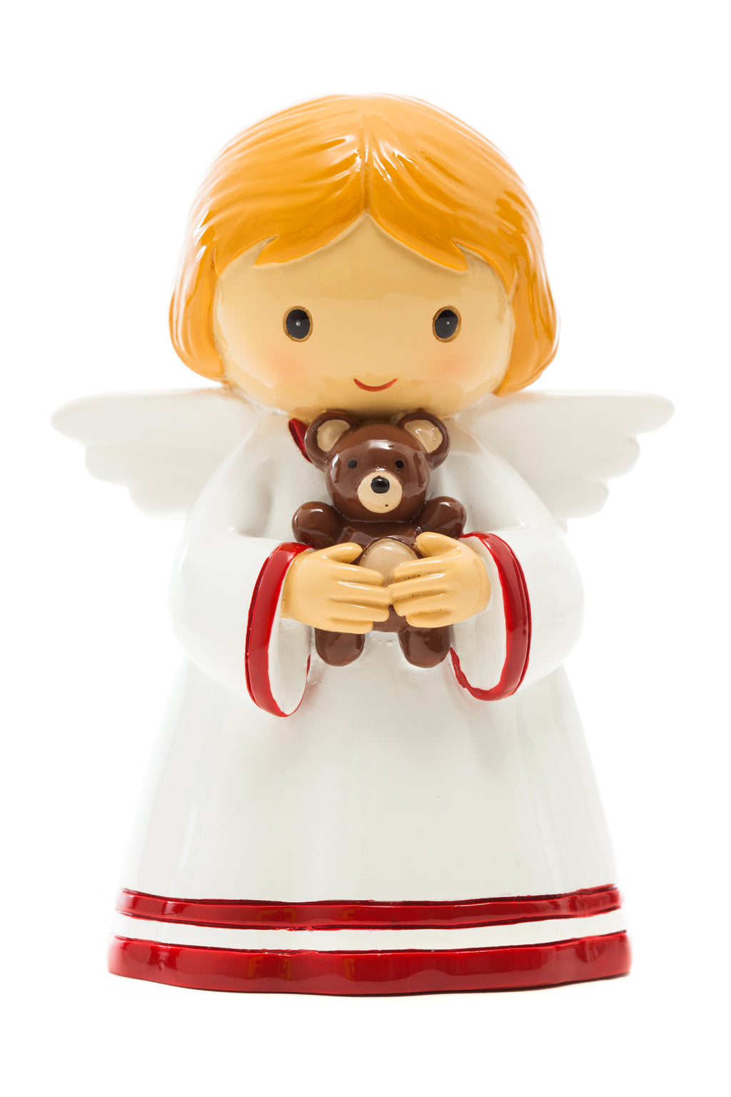 January Guardian Angel Holding A Teddy Bear