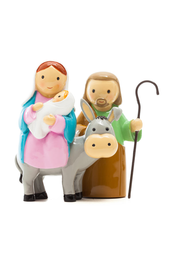 Mini Nativity Scene - 2 Piece