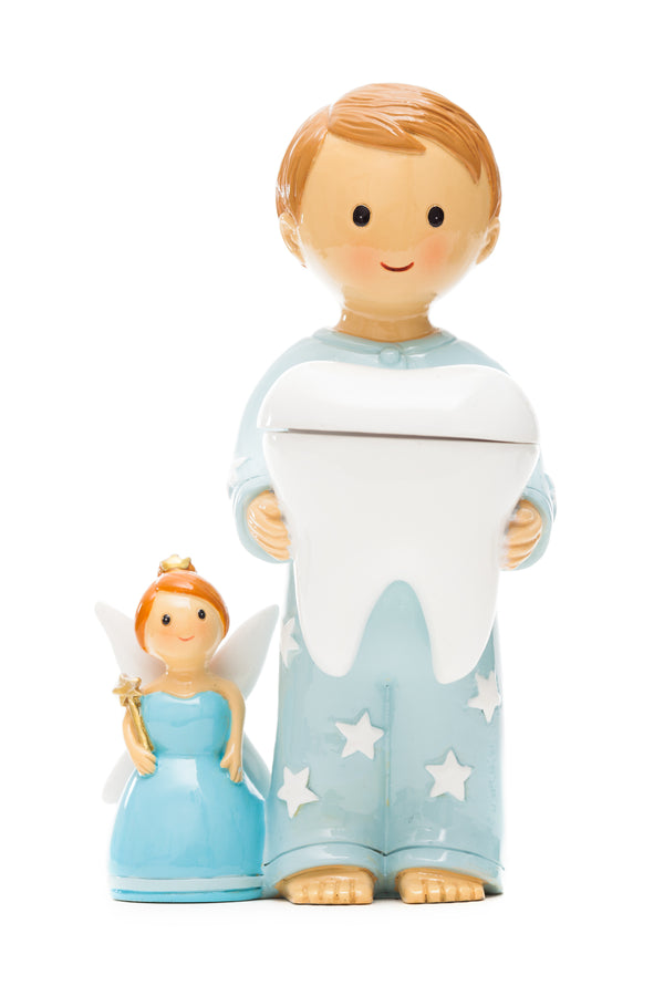 Tooth Fairy with Boy