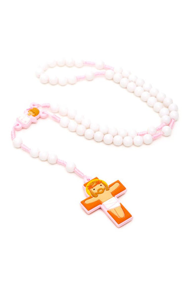 Baby girl angel rosary
