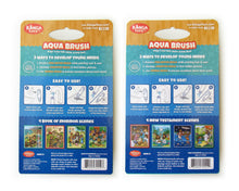 Load image into Gallery viewer, Two Pack Book of Mormon & New Testament Aqua Brush Activity Books, Reusable Travel Activity