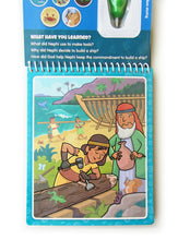 Load image into Gallery viewer, Book of Mormon Aqua Brush Activity Book, Reusable Travel Activity