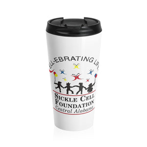 Stainless Steel Sickle Cell BHAM Travel Mug