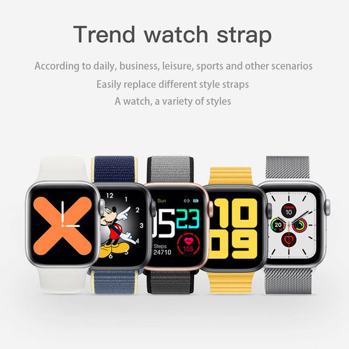 New T200 Smartwatch Series 5 Design Waterproof - iwatchs