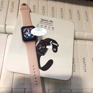 [I2 SPRO]Wireless Charging Smart Watch Fashion Version The Best Gift - iwatchs