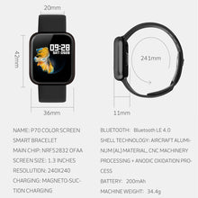 Load image into Gallery viewer, P70 Smart Watch Healthy Management Fitness Tracker Version 2019 - iwatchs
