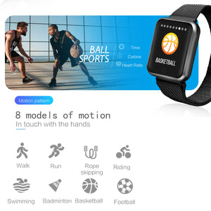 P68 1.3 inch Reminder Healthy Monitoring Smart Watch - iwatchs