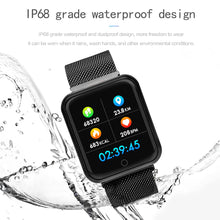 Load image into Gallery viewer, P68 1.3 inch Reminder Healthy Monitoring Smart Watch - iwatchs