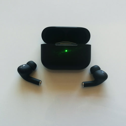 [Air Pro Blackpod]Black Color Design H1 Type Heavy Bass Renamed Bluetooth Wireless Earbuds Free DHL Shipment - iwatchs