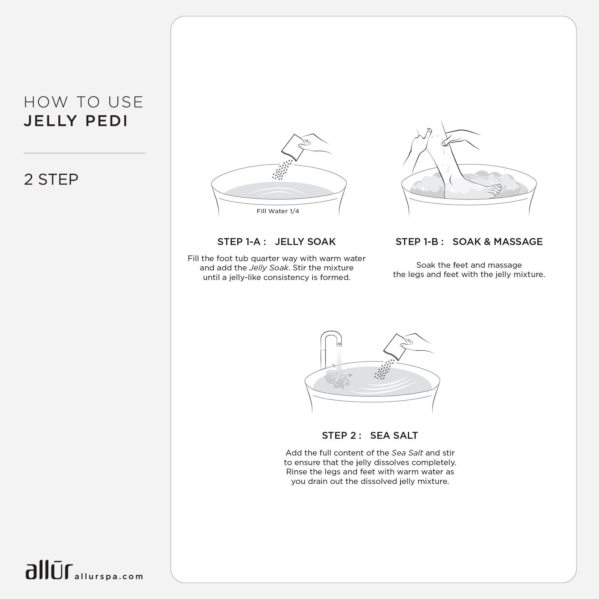 Jelly Pedi Lavender 2-Step