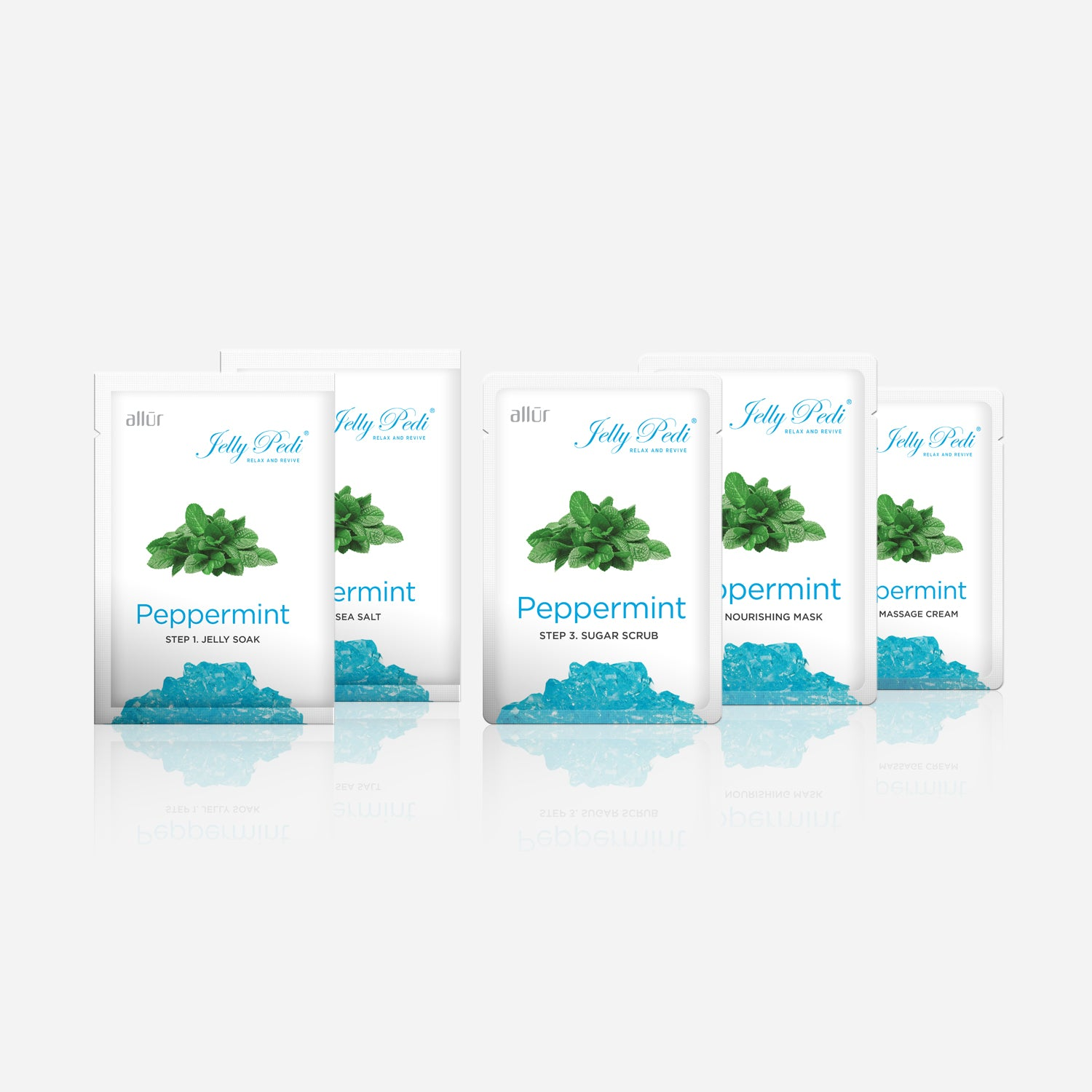 Jelly Pedi Peppermint 5-Step