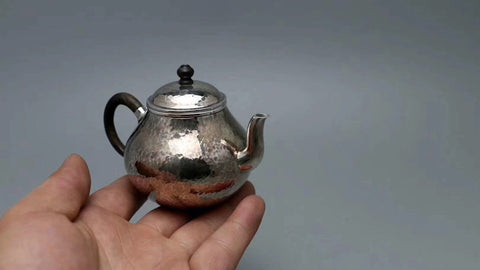 9999 Pure Silver Handmade 'Si Ting' Teapot