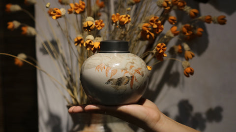 Chai Shao 'Brown Bird' Tea Jar