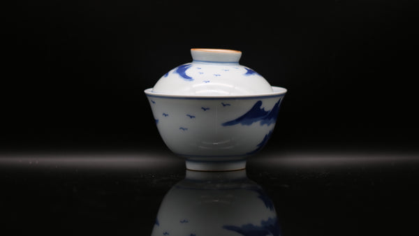 Han Yao Blue and White Kirin 'Motherland' Gaiwan
