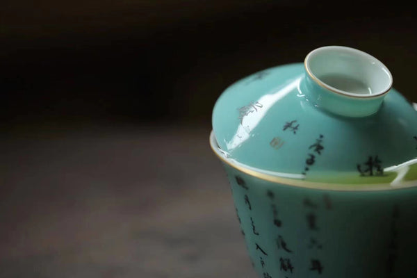 Song Shi green gaiwan 120ml
