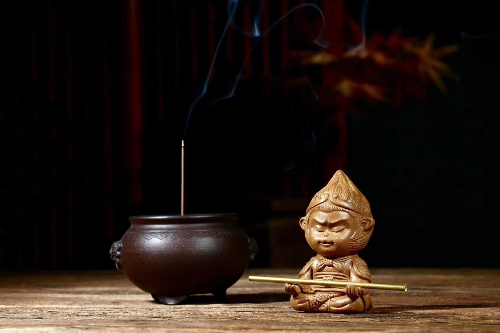Sun Wu Kong ,Incense burner